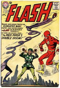 THE FLASH  #138-1963-DC--PIED PIPER--ELONGATED MAN