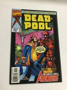 Deadpool 10 Nm Near Mint Marvel Comics