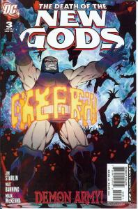 Death of the New Gods #3 VF/NM; DC | save on shipping - details inside