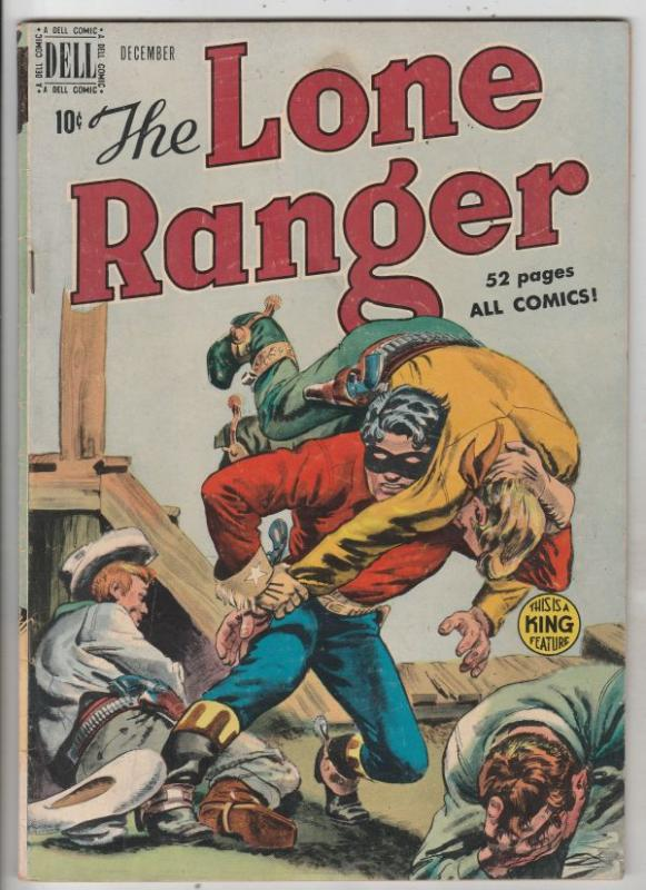 Lone Ranger, The #18 (Dec-59) FN/VF Mid-High-Grade The Lone Ranger, Tonto, Si...