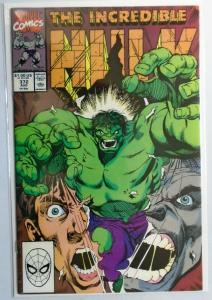 Incredible Hulk (1st Series) #372, Direct Edition 8.5/VF+ (1990)