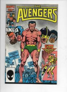 AVENGERS #270, NM-, Sub-Mariner, Captain, 1963 1986, more Marvel in store