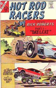 Hot Rod Racers #14 (May-67) VF High-Grade Rick Roberts, Clint Curtis