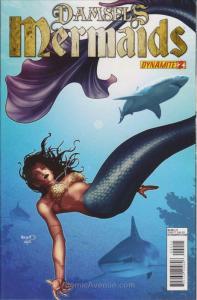 Damsels: Mermaids (Vol. 1) #2 VF/NM; Dynamite | save on shipping - details insid