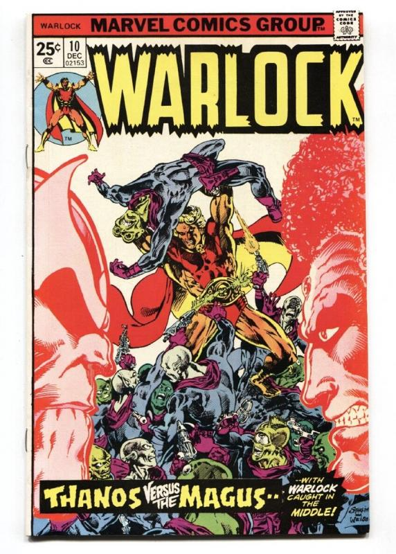 Warlock #10 1975- Starlin cover  Thanos Origin Magus - Gamora - VF/NM