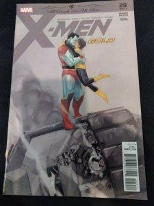 X-Men Gold #29 Second Print Variant Til Death Do Us Part, Part Four 2018 Marvel
