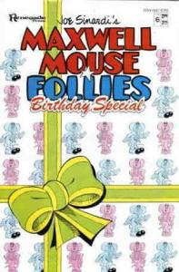 Maxwell Mouse Follies #6 FN; Renegade | save on shipping - details inside