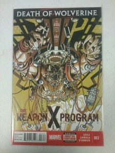 Death of Wolverine: The Weapon X Program #3 Marvel Comic NW142