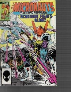 Micronauts #7 (Marvel, 1985)