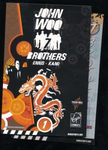 Virgin Comics, John Woo's 7 Brothers Volume 1 & 2 TPB ~ VF/NM (B21)