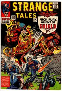STRANGE TALES 142 FINE PLUS Mar. 1966