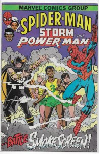 Spider-Man, Storm and Power Man   #1 GD