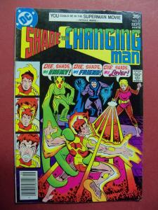 SHADE THE CHANGING MAN #2 (VG 4.0 TO 4.5) Steve Ditko art DC Comics