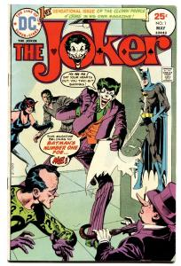The Joker #1 1975-dc-clown Prince Of Crime-vf-