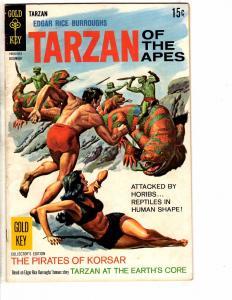 Tarzan Of The Apes # 181 FN Gold Key Comic Book E. Rice Burroughs Jungle J224