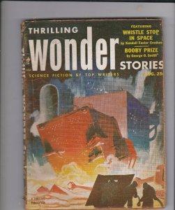 Thrilling Wonder Stories August 1953 Pulp Magazine
