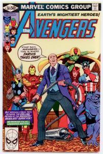 Avengers #201 NM 9.4