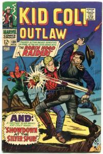 Kid Colt Outlaw #139 1968- Marvel Silver Age Western- Robin Hood Raider VG/F