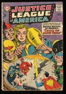 Justice League Of America #29 GD 2.0 1st SA Starman!  1st Crime Syndicate!