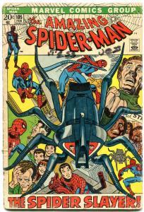 AMAZING SPIDER-MAN #105 1971-MARVEL COMICS BRONZE AGE g