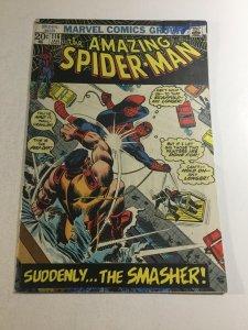 Amazing Spider-Man 116 Vg Very Good 4.0 Printer Defect Marvel Comics