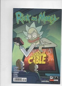 RICK and MORTY #47 A, 1st, VF/NM, Grandpa, Oni Press, from Cartoon 2015 2019