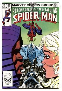SPECTACULAR SPIDER-MAN #82 Cloak and Dagger-MARVEL NM- 1983