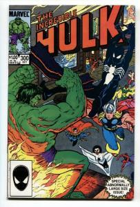 Incredible Hulk #300-Symbiote Spider-man-1984-marvel-high Grade nm-