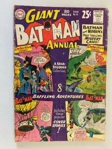 Batman Annual #6 1.5 FR GD half spine is split (1964)