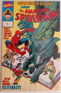 Amazing Spider-Man:Adventures in Reading #1 (Houston Chronicle)(VF)(1990)