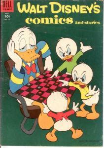 WALT DISNEYS COMICS & STORIES 175 VG April 1955 COMICS BOOK