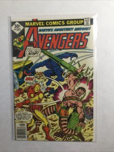 Avengers 163 Newsstand Edition Fine Fn 6.0 Marvel
