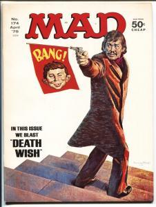 Mad-Magazine-#174-April-1975-Mort Drucker-Don Martin-David Berg-VF+