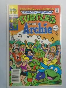 Teenage Mutant Ninja Turtles meet Archie #1 (1991) 6.0 FN