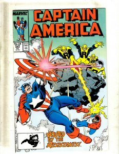 10 Captain America Comics #343 344 345 346 347 349 350 353 Annual #6 8 GB2