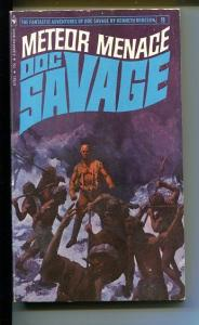DOC SAVAGE-METEOR MENACE-#2-ROBESON-JIM AVIATI COVER-VG VG