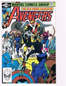 Avengers # 211 Marvel Comic Books Hi-Res Scans Awesome Issue Modern Age WOW! S10