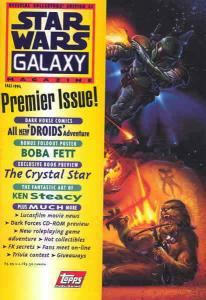 Star Wars Galaxy Magazine #1 VF/NM; Topps | save on shipping - details inside