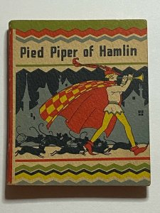 Pied Piper of Hamlin 1934 Wee Little Book #513 Whitman