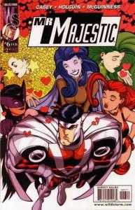 Mr. Majestic #6 VF/NM; WildStorm | save on shipping - details inside