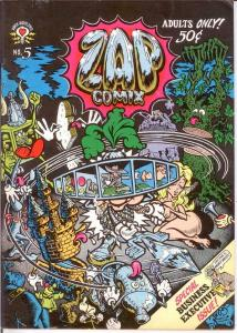 ZAP COMIX (1968-2005 APEX NOVELTIES) 5 F-VF (1ST) COMICS BOOK
