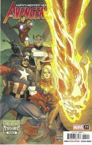 Avengers #44/744 (2021) - Black Panther, Iron Man, Captain Marvel, She-Hulk