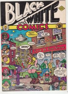 Black And White Comics #1 (Jan-73) NM- High-Grade R.Crumb as himself!