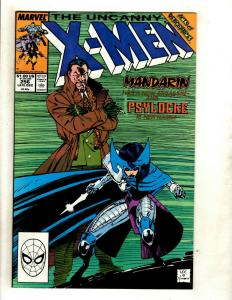 (Uncanny) X-Men # 256 NM Marvel Comic Book Cyclops Beast Iceman Wolverine GK4