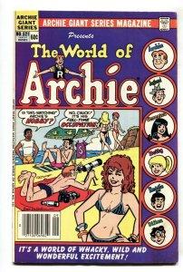 Archie Giant Series #521 World of Archie swimsuit GGA cvr
