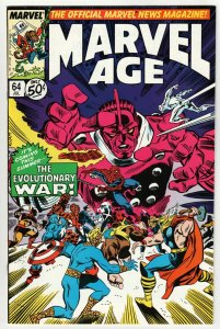 Marvel Age #64 (Marvel, 1988) VF/NM
