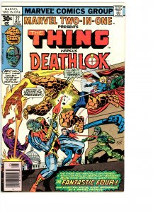 Marvel Two-In-One 27 VG/F Deathlok!