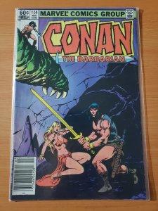 Conan the Barbarian #144 (1983)
