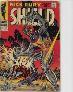 Nick Fury, Agent of SHIELD #2 (1968)