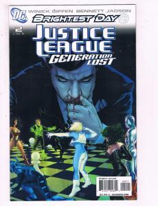 Justice League Generation Lost #2 VF DC Brightest Day Comic Book 2010 DE14